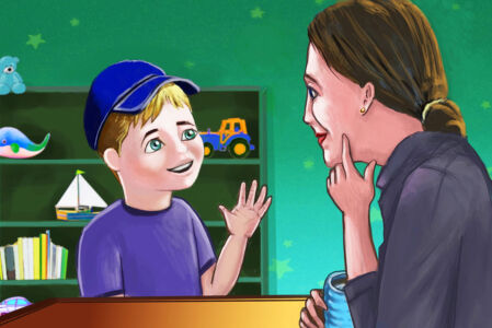 איור לספר ילדים